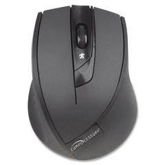 Wireless Mouse, 2.4G, Black - V-Track - Wireless - Radio Frequency - Black - 2000 dpi - Tilt Wheel - 4 Button(s)