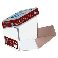 "Navigator Premium Copy & Multipurpose Paper - Letter - 8.50"" x 11"" - 20 lb Basis Weight - 0% Recycled Content - Smooth - 99 Brightness - 2500 / Carton - White"