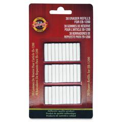 EB-1200 Eraser Refills - Latex-free - 1/Pack - White