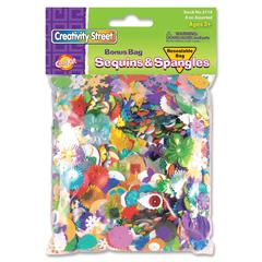ChenilleKraft Sequins & Spangles Confetti - 2 / Pack - Assorted