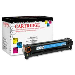Products Remanufactured Toner Cartridge Alternative For HP 125A (CB541A) - Cyan - Laser - 1400 Page - 1 Each