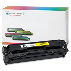Media Sciences Toner Cartridge - Alternative for HP (CC532A) - Laser - 2800 Pages - Yellow - 1 Each