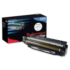 IBM Remanufactured Toner Cartridge - Alternative for HP 504A (CE250A) - Black - Laser - 1 Each