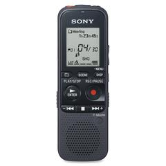 Sony ICD PX333 Digital Voice Recorder - 4 GB Flash Memory - LCD - Portable