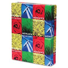 "Mohawk Copy & Multipurpose Paper - Letter - 8.50"" x 11"" - 100 lb Basis Weight - Recycled - 10% Recycled Content - Glossy - 250 / Pack - White"