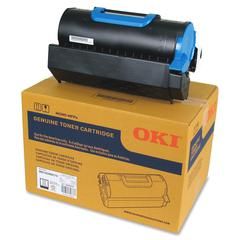 Oki Standard Toner Cartridge - LED - Standard Yield - 18000 Pages - 1 Each