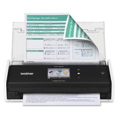 "Brother ImageCenter™ ADS-1500W Document Scanner - Duplex - Color - Document Scanner - 18ppm - Wireless - 2.7"" Color Touchscreen display - USB 2.0"