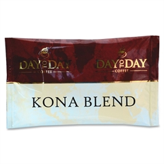 PapaNicholas Coffee 42/CT, Day To Day Kona Blend Pot Pack - Compatible with Drip-coffee Brewer - Caffeinated - Day To Day Kona Blend - 42 / Carton