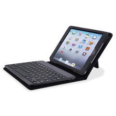 Compucessory Keyboard/Cover Case (Portfolio) for iPad mini - Black - Plastic