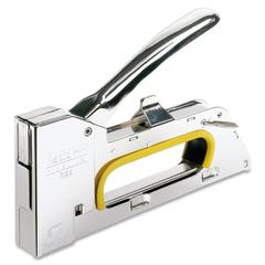 Rapid R23 Steel Locking Staple Gun - 156 Staple Capacity - 13/4mm, 13/8mm, 13/6mm Staple Size - Silver