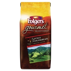 Folgers Gourmet Selections Colombian Ground Coffee Ground - Colombian - Dark/Bold - 10 oz - 1 Each