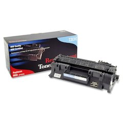 IBM Remanufactured Toner Cartridge - Alternative for HP 80A (CF280A) - Black - Laser - 2700 Page - 1 Each