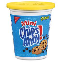 Chips Ahoy! Nabisco Mini Cookies Go Pak - Chocolate Chip - 3.50 oz - 8 / Carton