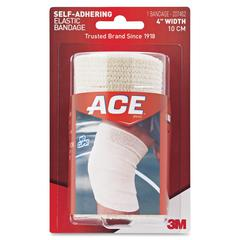 "Ace Self-adhering 4"" Elastic Bandage - 4"" - 1/Pack - Tan"