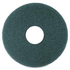 "3M Niagara 5300N Floor Cleaning Pads - 12"" Diameter - 5/Box - Blue"