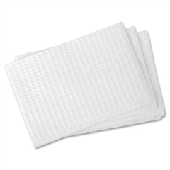 RMC Changing Table Liner - Poly Backing - 500 / Carton - White