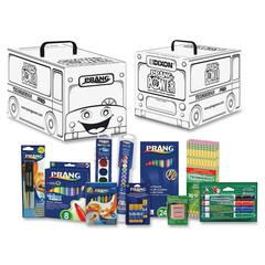 Prang Power Classroom Art Supply Kit - 101 / Kit - White