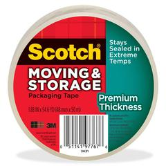 Scotch 3.1mil Moving Storage Tape - 54.60 yd Length - Acrylic Backing - Durable - 1 / Roll