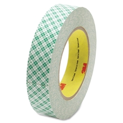"Double Coated Paper Tape - 2"" Width x 36 yd Length - 3"" Core - Kraft - Rubber Backing - Double Coated, Adhesive - 1 Roll - Natural"
