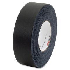 "3M 6910 Cloth Gaffers Tape - 1.88"" Width x 60 yd Length - Vinyl - Rubber Backing - Easy Tear, Adhesive - 1 / Pack - Black"