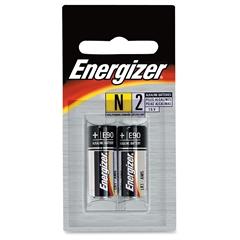 Energizer N2 E90 Alkaline Batteries - N - Alkaline - 1.5 V DC - 96 / Carton
