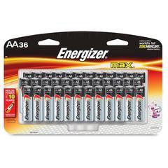 Energizer Max Alkaline AA Batteries - AA - Alkaline - 216 / Carton