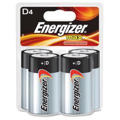 Energizer Max Alkaline D Batteries - D - Alkaline - 48 / Carton