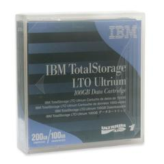 IBM LTO Ultrium 100GB Data Cartridge - LTO-1 - 100 GB (Native) / 200 GB (Compressed) - 2000 ft Tape Length - 1 Pack