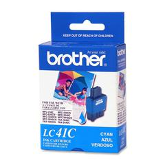 Brother Cyan Ink Cartridge - Inkjet - 400 Pages - 1 Each