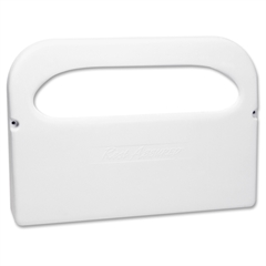 Impact Products Toilet Seat Cover Dispenser - Half-fold - Plastic - White - Corrosion Resistant