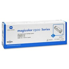 Konica Minolta High-Capacity Cyan Toner - Laser - 4500 Page - 1 Each