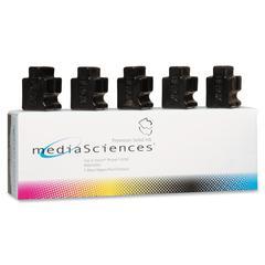 Media Sciences Solid Ink Sticks - Black - Solid Ink
