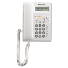 Standard Phone - White - Corded - 1 x Phone Line