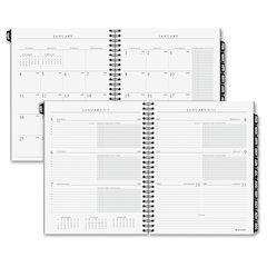 At-A-Glance Executive Weekly/Monthly Planner Appointment Section Refill - Julian - Weekly, Monthly - 1.1 Year - January 2017 till January 2018 - 7:00 AM to 6:00 PM - 1 Week, 1 Month Double Page Layout