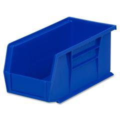 """Akro-Mils AkroBin - 5"""" Height x 5.5"""" Width x 10.9"""" Depth - Rack-mountable - Blue - Polymer - 1Each"""