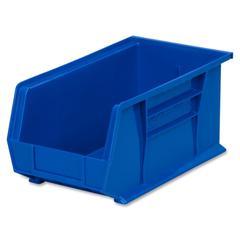 """Akro-Mils AkroBin - 7"""" Height x 8.3"""" Width x 14.8"""" Depth - Rack-mountable - Blue - Polymer - 1Each"""