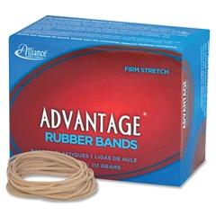 "Alliance Advantage Rubber Bands, #18 - Size: #18 - 3"" Length x 63 mil Width - 1 / Box - Natural"