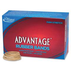 "Alliance Advantage Rubber Bands, #31 - Size: #31 - 2.50"" Length x 0.13"" Width - 1 / Box - Natural"