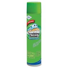 Scrubbing Bubbles Bathroom Cleaner - Aerosol - 0.20 gal (25 fl oz) - 1 Each - White