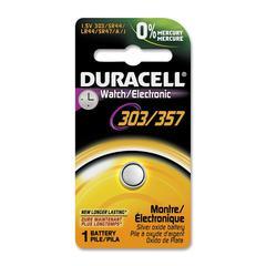 Duracell High-energy Silver Oxide 1.5 Volt Battery - 165 mAh - Silver Oxide - 1.5 V DC - 1 Each