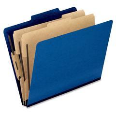 "Pendaflex Pressguard Classification Folders - Letter - 8 1/2"" x 11"" Sheet Size - 2"" Expansion - 4 Fastener(s) - 2"" Fastener Capacity for Folder, 1"" Fastener Capacity for Divider - 2/5 Tab Cut - 2 Divi"