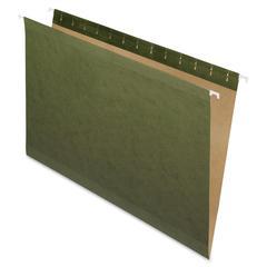 """Pendaflex Reinforced Hanging Folder - Legal - 8 1/2"""" x 14"""" Sheet Size - Standard Green - 25 / Box"""