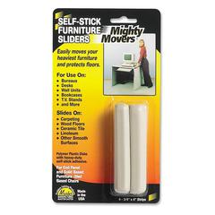 "Master Mighty Movers Furniture Slider - 4"" Length x 750 mil Thickness - Polymer - Beige"