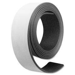 "Magna Visual Magnetic Tape - 1"" Width x 4 ft Length - Magnet - Flexible - 1 / Roll - Charcoal"