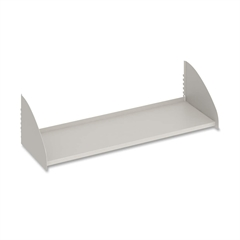"""Maxon Parallel Overhead Shelve - 36"""" x 36"""" x 14"""" - Gray - Powder Coated - Steel - Assembly Required"""