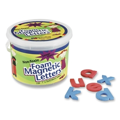 Pacon Magnetic Alphabet Letters - Magnetic - Non-toxic - Assorted - Foam - 108 / Set