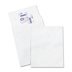 "Quality Park Jumbo Survivor Envelope - Catalog - 13"" Width x 19"" Length - 18 lb - Self-sealing - Tyvek - 25 / Box - White"