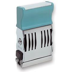"""Xstamper Number Stamp - Number Stamp - 0.16"""" Impression Width x 1.50"""" Impression Length - Black - Plastic Handle - 1 Each"""