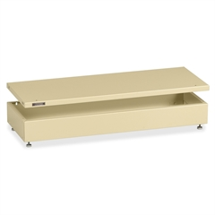"""Tennsco A36 Series Modular Filing System - 36"""" - Letter - Stackable - Sand - Steel - Recycled - Assembly Required"""