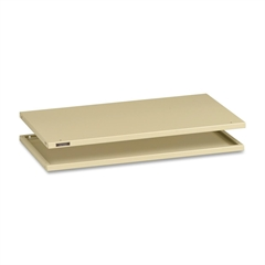 "A36 Series Modular Filing System - 36"" - Stackable - Sand - Steel - Recycled - Assembly Required"